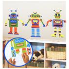 Build Your Own Robot - Peel and Stick Appliques